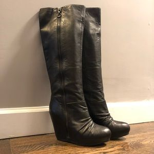 Ash Ursula over the knee leather boots